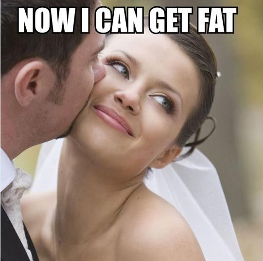"Till ""Fat"" Do Us Part?"