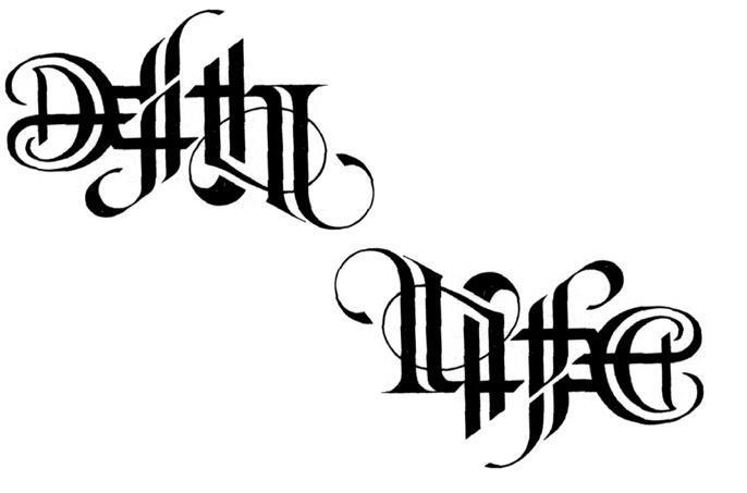 death tattoos love life loyalty. How can i transfer my tattoo tattoo